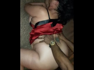 BBW Allision Broadway Gets Dicked Down by some Black Cock