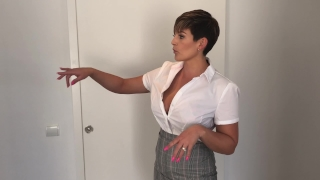 SLUTTY ESTATE AGENT VILLA FUCK XXX Celestia fucked