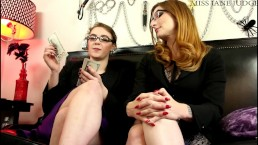 Performance Evaluation Foot Blackmail Olivia Rose Miss Jane Judge