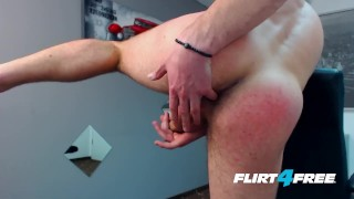Spreads off larsen his flirtfree ass big on gets dicked stud and bruce masturbation athletic