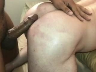 Billy Santoro takes a raw black dick