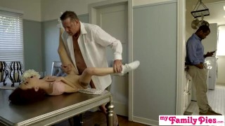 My Family Pies - Daughters Tight Pussy Makes Him Cum Inside S2:E2 Bobbers pose