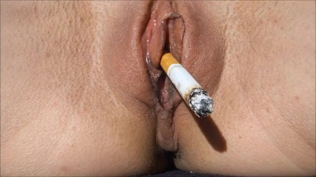 Internal pussy smoking out pussy david