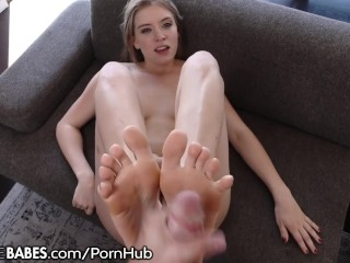 Giselle Palmer- Cum On My Feet With Your Cock