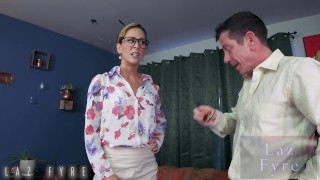 Cherie DeVille Presidential Blackmail -Diplomatic Insemination! By Laz Fyre Cum on