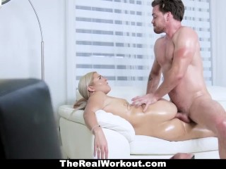 TeamSkeet – Fitness Chick With Huge Ass Does Some Sensual Healing