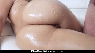 Sensual does some with teamskeet healing chick ass huge fitness blonde workout