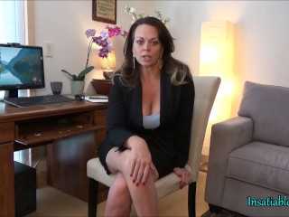 Manipulated By Your Therapist To Eat Your Cum