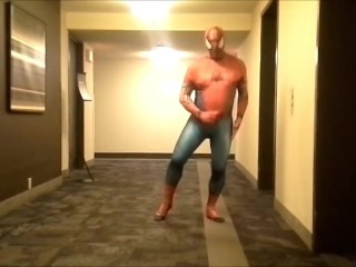 spider quick stroke at hotel elevators