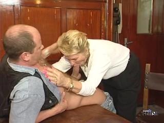 Asphyxiation Bondage Fucking, Naughty mature lady fucking and sucking at the resturant Blonde Blowjob Cumshot