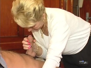 Naughty Mature Lady Fucking And Sucking In The Restaurant