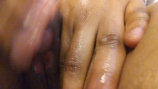 Goddess play with her big clit until she climaxxx porno