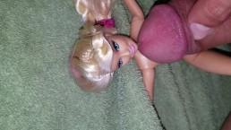 Jerking Off On Barbie Doll