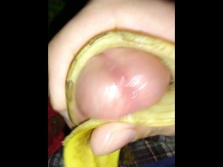 Banana Peels Make Me Cum Part 2