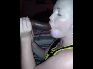 Tranny threesome with girl