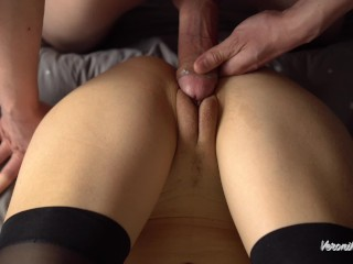 Female POV Close Up Pussy Fuck, Big Cock Rubbing Pussy And Huge Cum On Her