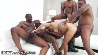 School Girl Keisha Grey Puts In Work - Hot Rough BBC Gangbang White screaming