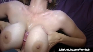Big Boobed Milf Julia Ann Is Jizzed In Her Gorgeous Mouth!