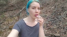 Lux Lives Smoking in Nature