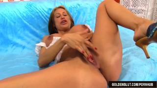 Like mature and busty marie masturbates sheila a slut fucks tits big