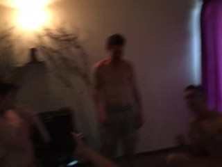 Welcome home party turns into kinky family hardcore orgy's