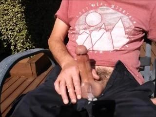 Outdoor wank