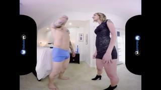BaDoinkVR.com Blonde Hottie Sophia Grace Sneaks On You For A Hard Cock