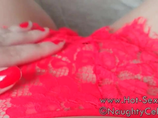 squirt in my red used panty
