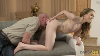 Bed in daddyk lessons russian man amateur