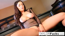 Wine closet masturbation with big tit Taylor