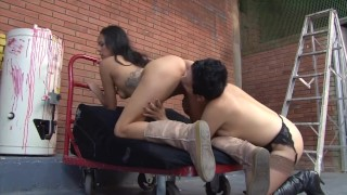 Latin step-Mother Naughty step-Daughter 2 scene 2