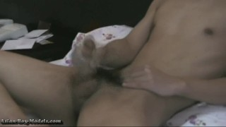 Bigcock AsianBoyz Jerk off Wanking big