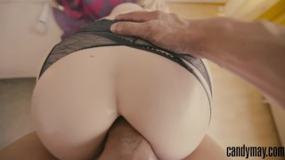 Candy May - ANAL JUNKIE - ASS POUNDED BY BBC Wet tiny