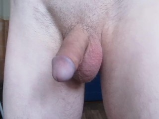 Handsome Teen Boy Makes Prostate Orgasm With His Good Big Cock