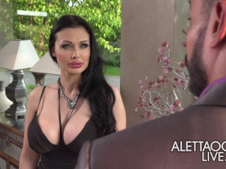 Aletta Ocean Cheating Her Husband With Her Client - Alettaoceanlive