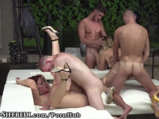 Huge Orgy from the Rocco Siffredi Academy of Porn!