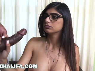Preview 4 of MIA KHALIFA - I Was A Little Bit Scared Of My First Black Cock