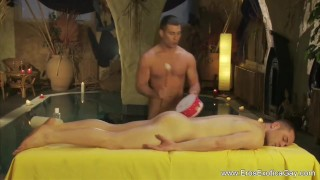 Massaging The Anal Cavity Gay big