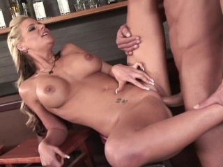 Small Tits Anal Porn Fucking, Big Tit Blonde PAWG Gets Fucked By Bartender. Big ass Big Tits