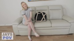JAY'S POV - PERFECT BLONDE TEEN LILY RADER FUCKED BY PERV PHOTOGRAPHER