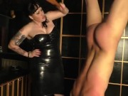 Inverted Whipping Corporal Punishment Mistress Julie Simone