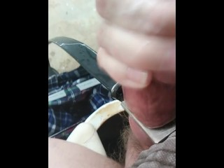 I Put My Dick Through A Belt Buckle And Stroked My Giant Head  Part 2