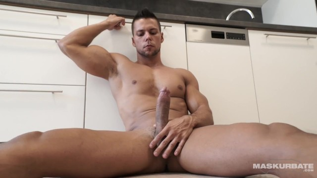 Rocket tube gay site - Straight euro officer masturbates 8.5 of uncut cock on site