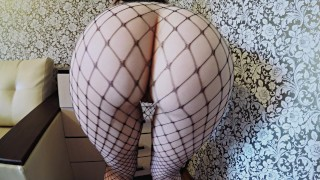 Hungry big cock fishnets in for babe ass fuck with boobs big