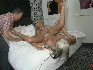 Preview 5 of Sally D'angelo and Brooke Tyler FUCK the neighbor next door