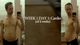 WEEK 1: four weeks of going 2 t/ gym