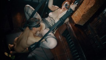 Good Ginger Goes Bad on Sex Swing   Redhead Teen Goes Wild with Pussy Lick