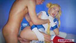 COSPIMPS - KENZIE REEVES COSPLAY SAILOR MOON GETS CREAMPIED