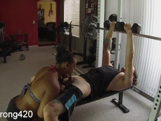 Workout Turns Into Hot Fuck With Sexy Ebony Milf Premium Full Hd