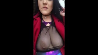Quick Public Orgasm Blowjob sloppy